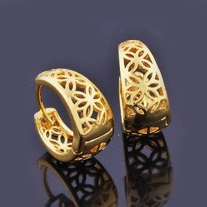 Jewelry - New filigree 14 k Gold filled hoops